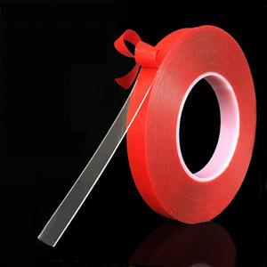 Grip 3M 15 millimetri trasparente doppio lati del nastro adesivo trasparente acrilico Red Tape magia Double-sided Traceless lavabile nastro adesivo 2016