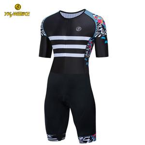 Ykywbike Benutzerdefinierte Radfahren Triathlon Radfahren Skinsuit Männer MTB Fahrrad Reiten Anzug Radfahren Kleidung Pro Team Maillot Ciclismo