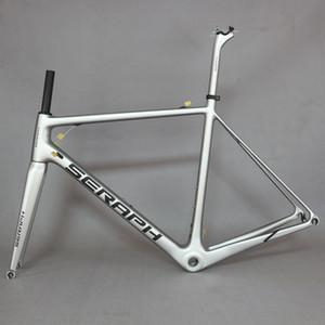 cadre fm066 ruban Fluor nouveau T1000 Full Carbon Fiber Frame, cadre de vélo couleur. beaucoup de cyclisme sur route de la marque OEM.
