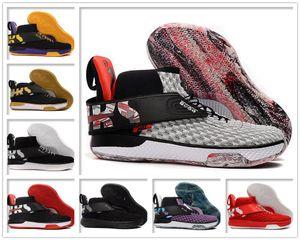 2020 luxurys uomini Designers Cuscino Zoom UNVRS basket Scarpa da uomo Designer Sport Sneakers Grigio Rosso FlyEase sistema Black Men Trainer Marca