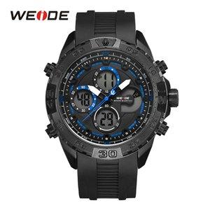 WEIDE Quartz Hommes Marque Chronographe Mode armée numérique Auto Date Calendrier Montre Reloj Hombre Relógios Masculinos