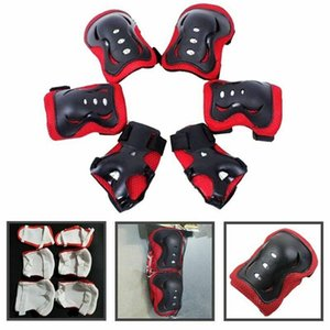 6PCS Bike Elbow Knee Pads Motorcycle Protective Gear Sets Basketball Knee Pads Skating Sports Kneepad Brace Support Protector