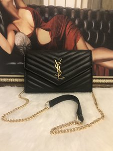 2020 Европейский классический модный бренд женская цепочка искусственная кожа сумка плечо портативный сумка пять цветов бесплатная быстрая доставка