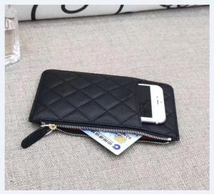 Marke Handytasche Reißverschlusstasche Mappen-Luxus VIP Geschenk Leder Kreditkartenbeutel Designerinnen-Name-Kartenhalter Beste Art Null-Geldbeutel