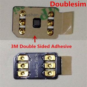 Free DHL 3M adesivo duplo-sim desbloqueio cartão sim v30 4g / 5g para iphone6s-xr 11 12 series gevey turbo sim onesim