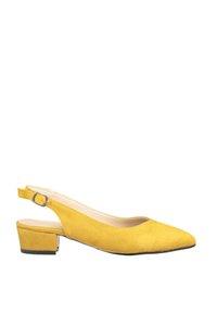 Sapatos S clássico de salto alto Trendyol Suede Mulheres' TAKSS20TO0260