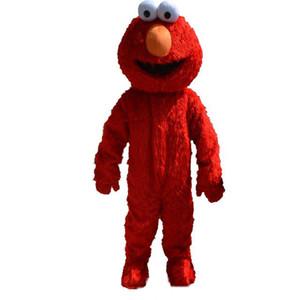 2019 Горячие продажи профессиональный Make Elmo костюм талисмана взрослый размер Elmo костюм талисмана бесплатная доставка