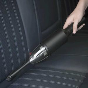 Shunzao inalámbrica multiuso para aspiradoras Protable 12000Pa succión de motor sin escobillas para el hogar y de coches Limpieza- Blanca