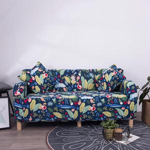 145-185cm Nordic Stil Slipcovers Sofa-Abdeckung Cotton Elastic-Sofa-Abdeckung für Wohnzimmer Couch Abdeckung Sofa Handtuch Zweisitzer