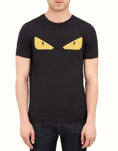 TYU marca Designers magliette maglietta casuale degli uomini della novità di modo Tees Occhi ricamo di lusso camice FF T Mens Donne Streetwear Top magliette