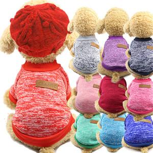 Собака Одежда Зимнего теплая Pet Dog пальто куртки щенок чихуахуа Одежда Толстовка для Маленьких Средней Собаки Щенки Йоркширского Outfit XS-XXL