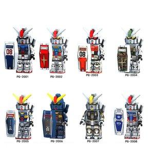 Einzelverkauf Super Heroes Mobile Armor Anzug Seed GUNDAM RX-178 RX79 RX-78-GP01 MK-11 Baustein-Kind-Spielwaren-Geschenk PG8112