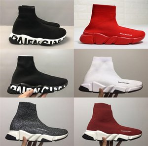 Balenciaga speed Sock Shoes High Quality Speed Trainer Sneakers Men Women Trainers Stretch-knit Mid Sneakers Casual shoes