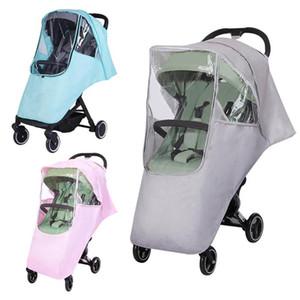 Asiento de seguridad del cochecito de bebé de la cubierta a prueba de viento Parasol Canopy enfermería Escudo de coches