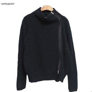 Мода-зима осень водолазка кардиган женщин кашемировый свитер кардиган вязание новый зимний свитер женские топы пальто прямая поставка