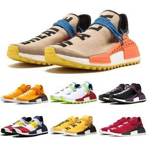Human Race PW Chaussures Pharrell Williams X Hu Trail Nerd Pack Solaire Festival De Holi Designer BBC Hommes Femmes Formateur Sports Sneakers 36-47