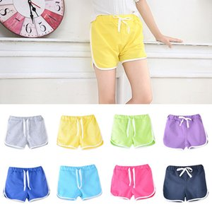 Kids Shorts Baby Summer Sports Hot Pants Drawstring Casual Shorts Girls Safety Pants Striped Anti-Leak Breeches Short Trousers IIA233