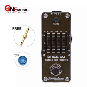 New AROMA AEB-3 BASS EQ 5-Band Bass Equalizer Mini Analogue Effect True Bypass