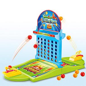 두 배는 아이들 널 게임 Y200421 를 위한 4 개의 푸들 손가락 농구 총격사건 게임 교육 장난감을 연결합니다