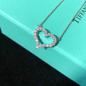 Engagement design de luxe collier design collier en argent femmes bijoux en argent délicat collier sculpté de bijoux de haute qualité