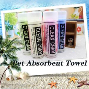 Pet assorbente del tovagliolo Dog Bath asciugamano morbido Salviette detergenti magica dei capelli asciutti multifunzione PVA per asciugamani casa auto per animali domestici