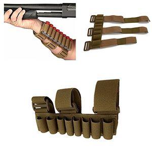 SuperbSupplier 8 جولات أطلق عليه الرصاص الذخيرة التخزين شل حامل قابل للتعديل الرماة الساعد أو التكتيكية خيرة كم مجلة الحقيبة