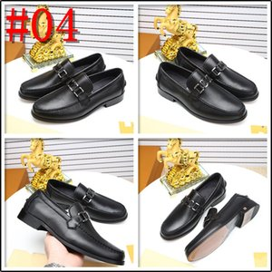 2020 Spring Autumn Men Oxfords Genuine Leather Black Brown Lace-up Pointed Toe Men Formal Shoes Luxury Dress Shoes For Wedding Office