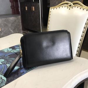 Designer Sac à main de luxe en cuir véritable portefeuille d'affaires multicouche fermeture par mot de passe intérieur grande capacité des hommes de la bourse de luxe