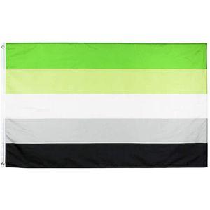 Gota Publicidade Aromantic Usage, Países, 3X5 de frete Flag Poliéster 100D All Outdoor Indoor Orgulho Banners Pnfer Nacional