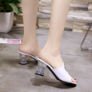 2019 New coming pumps African lower heel slipper shoes with big stones 10227-19 in purple , heel height 3cm, size 38-42