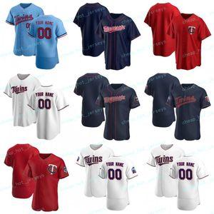 Personalizado 2020 Baseball Josh 24 Donaldson Miguel 22 Sano Kirby Puckett 34 Jorge 11 Polanco Nelson 23 Cruz Max 26 Kepler Jerseys Homens Mulheres Juventude