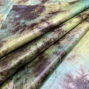 Moda mulheres amarrar tecido corante 2020 de alta qualidade rendas Bazin riche Brocade Fabric mais recente 5yards bacia riche getzner / lot LY