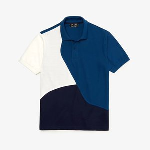 DUYOU New men's embossed mesh contrasting color polo shirt summer men polo shirt male shirts jerseys brand clothing