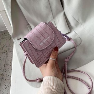 Super Mini Thick Chain Design PU Leather Crossbody Bags For Women 2020 Fashion Shoulder Handbags Female Travel Lipstick Bag