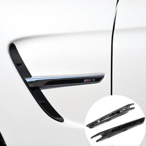 3K réel Fender en fibre de carbone sec Garniture Pièces de rechange sortie d'air pour BMW M3 M4 F80 F82 F83