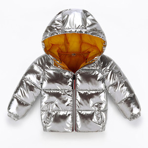 Winter Jacket Kids For Silver -plated Children Casual Boys In Hooded Clothes Baby Jacket Outwear Kids Parka Snowsuit Doorout 6Y 2019