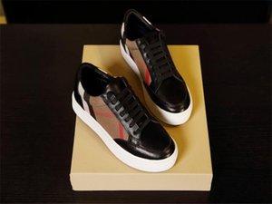 Burberry shoes 2020 New Hot Marque Classique Hommes Femmes créateurs de mode Top chaussures chaussette qualité vitesse formateur Sneakers bbr200416