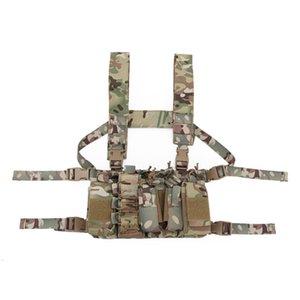 Тактический слинг-жилет MOLLE Pouch 1000D Нейлоновый жилет Пояс Боевые армейские боевые кандалы с плечевой подвеской