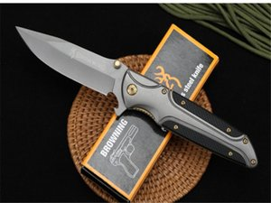 New Browning-fa50 quick opening folding knife A16 A161 A162 A163 survival camping hunting knife folding knife free shipping