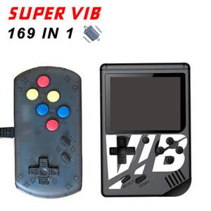 SUPER VIB handheld consola de vibração de consola de jogos pode armazenar 169 jogos de consolas de jogos de vídeo SNES jogo de máquina de jogo de vibração playe PXP3 PVP