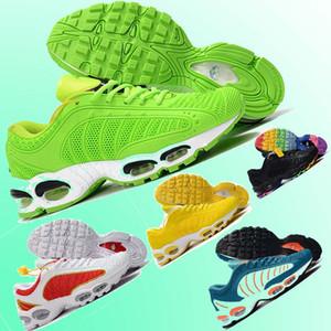 2019 Novo TAILWIND 4 TN Homens running Shoes Mens Basquete Sports Sneakers Formadores de malha de couro KPU tn plus