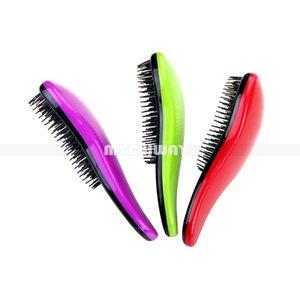 7 Cores escova de cabelo Elite emaranhado Detangling portátil Magia antiestático TT pente Cabelo Probucts Detangle emaranhado escova de cabelo Styling Combs