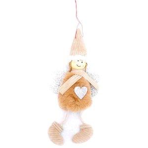 Cute Angel Plush Doll Christmas Decoration Pendant Creative Christmas Tree Ornaments Christmas Decoration For Home