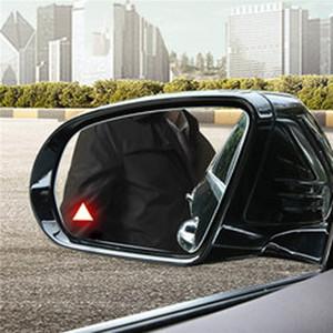 Araba Yan Arka Ayna BSD BSM Mikrodalga Sensörü Kör Nokta Algılama İzleme Asistanı mercedes benz W222 S500 S600 için Alarm Güvenlik