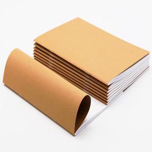 Kuhfell Papier Skizzenbuch Einschuss Journal Niedlich Notizbuch-Papier Wochenplaner Zubehör Bürokalender Agenda Reisen