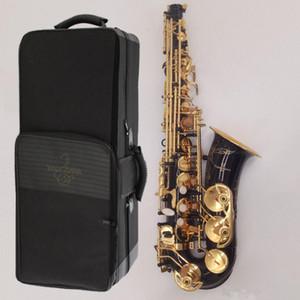Marque Yanagisawa Saxophone Alto A-992 A-WO20 clé or noir haute performance professionnelle sax alto de qualité avec des accessoires peuvent gratuit