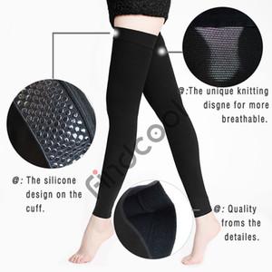 Kadınlar Erkekler için Yisheng Diz-Yüksek Tıbbi kompresyon çorapları Varis Çorabı Sıkıştırma Ayraç Wrap Şekillendirme