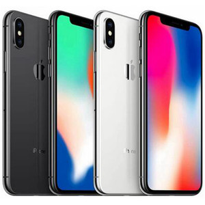 Reformierte Original Apple iPhone X 5,8 Zoll A11 Bionic iOS Hexa-Core 3 GB RAM 64/256 GB ROM 12MP Kamera entriegelte intelligentes Telefon-freien DHL10pcs
