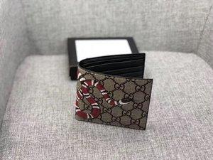 Мужской кошелек кожаный с кошельками для мужчин кошелек змея Тигр пчела кошелек мужской кошелек Горячий в Европе и Америке горячая распродажа весной брелок стена
