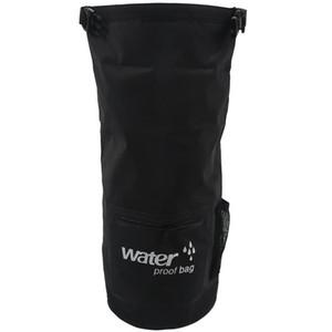 Sac flottant sec imperméable Protégez vos articles Coffre-fort, sec, propre du kayak, rafting, canotage, Camping, plage, pêche noir 1